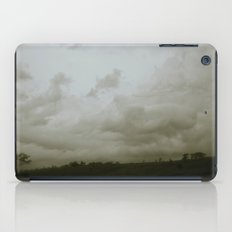 Dawn in the countryside iPad Case