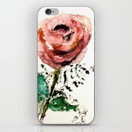 The First Rose iPhone & iPod Skin