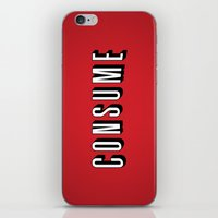 Consume iPhone & iPod Skin
