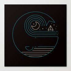 Moonlight Companions Canvas Print
