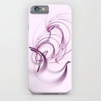 Lavender Swirls iPhone 6 Slim Case