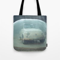 Bubble Car Tote Bag