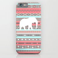 Elephant Aztec Pattern P… iPhone 6 Slim Case
