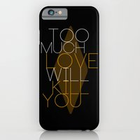 iPhone & iPod Case featuring TOO MUCH LOVE by Lazar Alex
