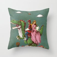 Historical Reconstitutio… Throw Pillow