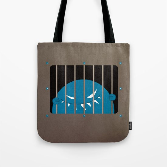 Evil Monster Kingpin Jailed  Tote Bag