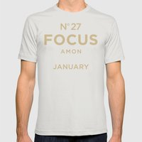 Know the Date! Mens Fitted Tee Silver SMALL