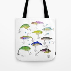 Fishing is Fly No3 Tote Bag