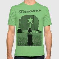 Star-Lite Coke Mens Fitted Tee Grass SMALL