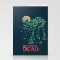 Walker's Dead Stationery Cards