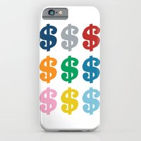 iPhone & iPod Case featuring Colourful Money by Project M