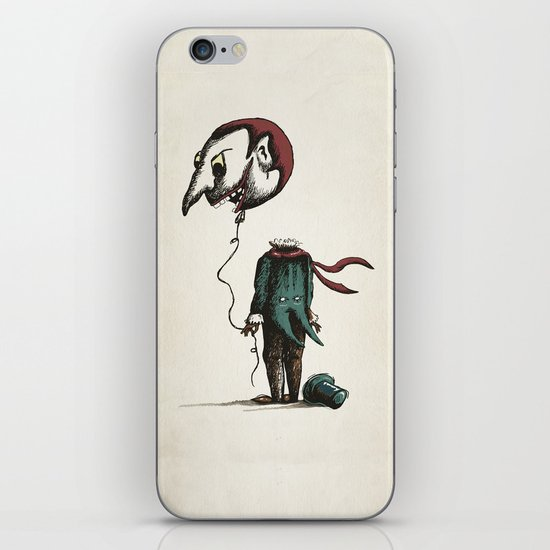 And His Head Swelled with Pride... iPhone & iPod Skin