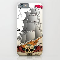ship iPhone & iPod Cases featuring ship by mark ashkenazi