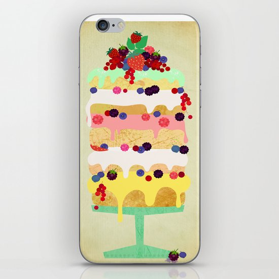 Fairy Cake iPhone & iPod Skin