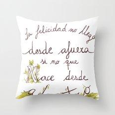 Bonheur Throw Pillow