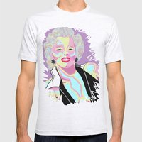Marilyn M Mens Fitted Tee Ash Grey SMALL