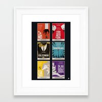 Bond #1 Framed Art Print