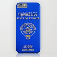 Kuwaiti Pass Port iPhone 6 Slim Case
