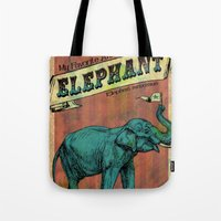 My Favorite Elephant Tote Bag