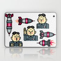Kim Jong Un Rockets Laptop & iPad Skin