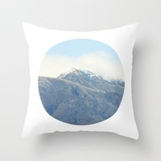 the mountain Throw Pillow