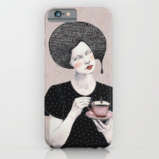 Nina in black iPhone & iPod Case