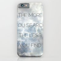 iPhone & iPod Case featuring Search & Find by aertstoon