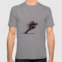 Athlethic's Run Mens Fitted Tee Athletic Grey SMALL