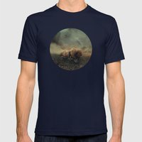 Besetting Sin Of Progres… Mens Fitted Tee Navy SMALL