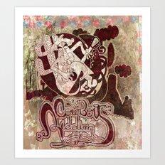 cowboy riddim Art Print