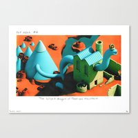 POP HELL #6 Canvas Print