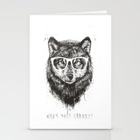 Who's your granny? (b&w) Stationery Cards