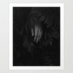 the rain is enough Art Print