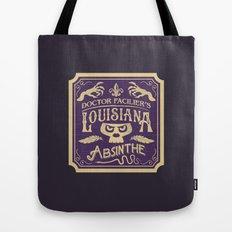Doctor Faciler's Lousiana Absinthe Tote Bag