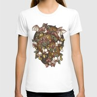 Botanica Womens Fitted Tee White SMALL