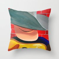 After These Throw Pillow