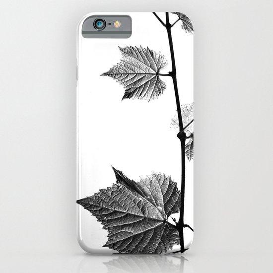 wine leaf abstract III iPhone & iPod Case