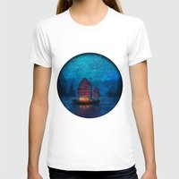landscape T-shirts featuring Our Secret Harbor by Aimee Stewart