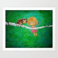 Little Fairy Art Print