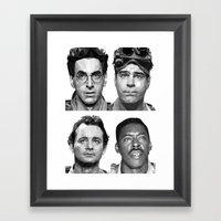 Ghost Buster Framed Art Print
