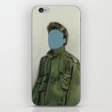 major blue iPhone & iPod Skin