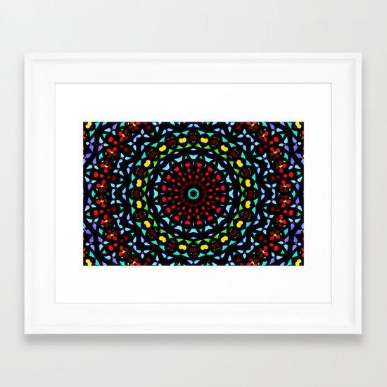 Mandala 20 Framed Art Print