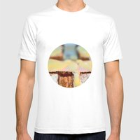 food shot Mens Fitted Tee White SMALL