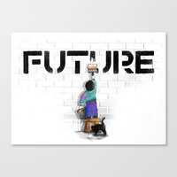 No Future Canvas Print