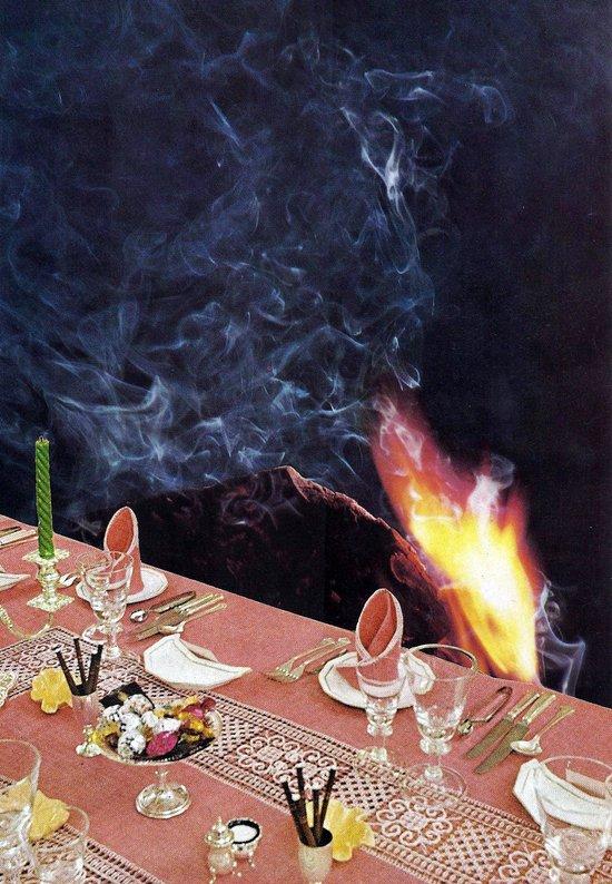 dining Canvas Print