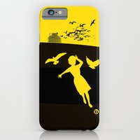 iPhone & iPod Case featuring Alfred Hitchcock's The Birds by Alain Bossuyt