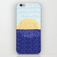 Face The Sunshine iPhone & iPod Skin