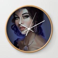 Morgana LeFay Wall Clock