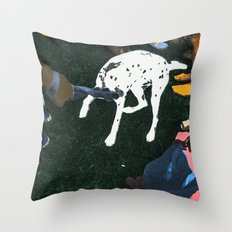 SHINY HAPPY PEOPLE Throw Pillow