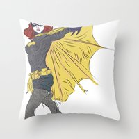 Batgirl [ Alt ] #1 Throw Pillow